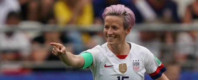 """Mondiali femminili, capitano Usa non canta l'inno e sfida Trump. Lui: """"Sii orgogliosa della bandiera che indossi"""""""