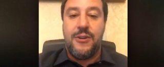 """Sea Watch, Salvini: """"Comandante è sbruffoncella che fa politica sulla pelle dei migranti"""""""