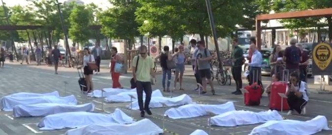 Padova, ho steso dei cadaveri per strada coi commenti dei passanti. E tutti restavano impietriti