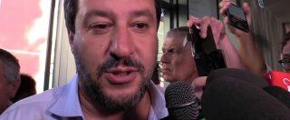 """Sea Watch, Salvini: """"Sbarcati altri 800 migranti? Questa è battaglia di principio, con ong straniera che viola le leggi"""""""