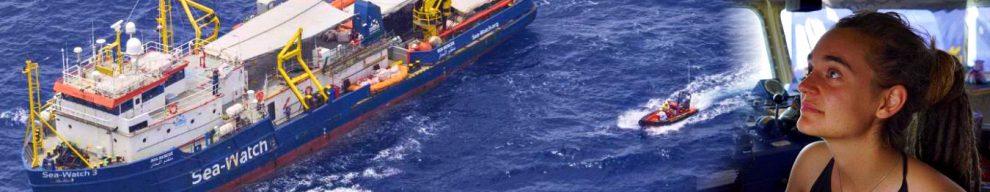"""Sea Watch bloccata, Olanda: """"Non prendiamo i migranti"""". Di Battista: """"Farli sbarcare e redistribuirli in Ue"""""""