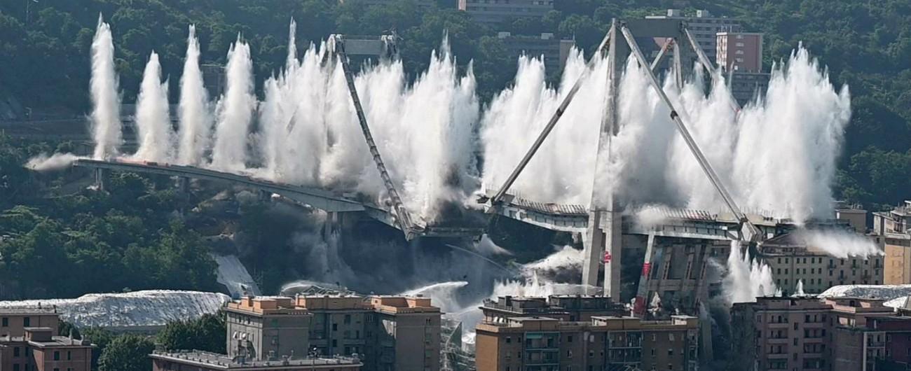 """Ponte Morandi, ditta che l'ha abbattuto: 'Nel 2003 Autostrade ci chiese di buttarlo giù. Non si fece per costi e complessità"""""""