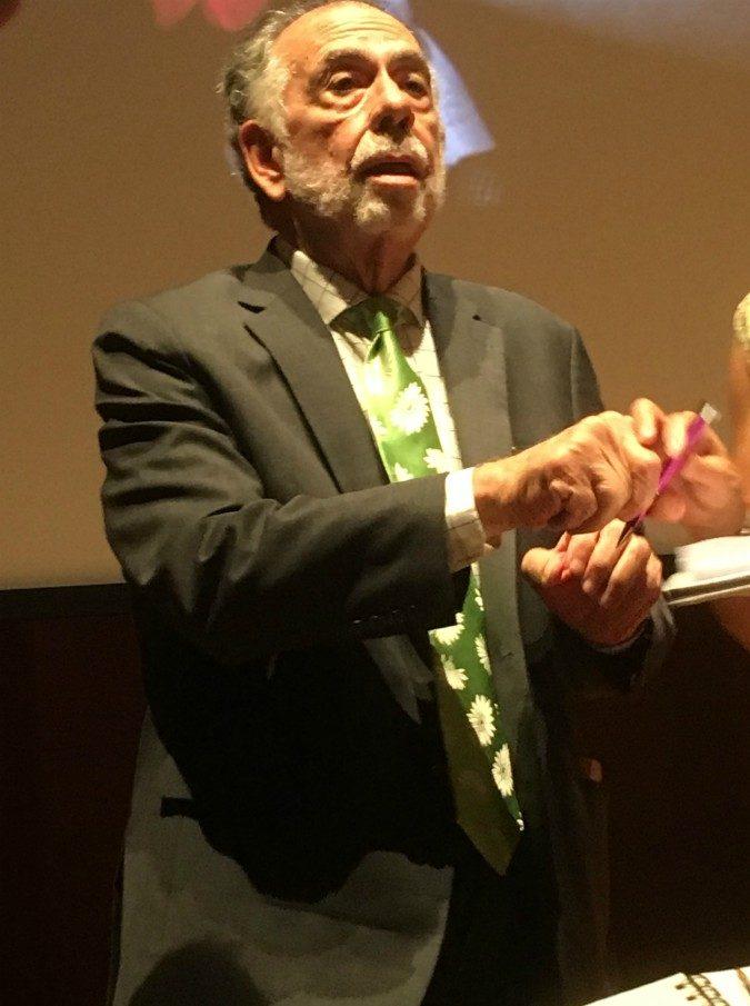 """Apocalypse Now terza versione. Francis Ford Coppola, maestro tra gli studenti. """"Cancellate istruzione e religione per tornare ad essere unici"""""""