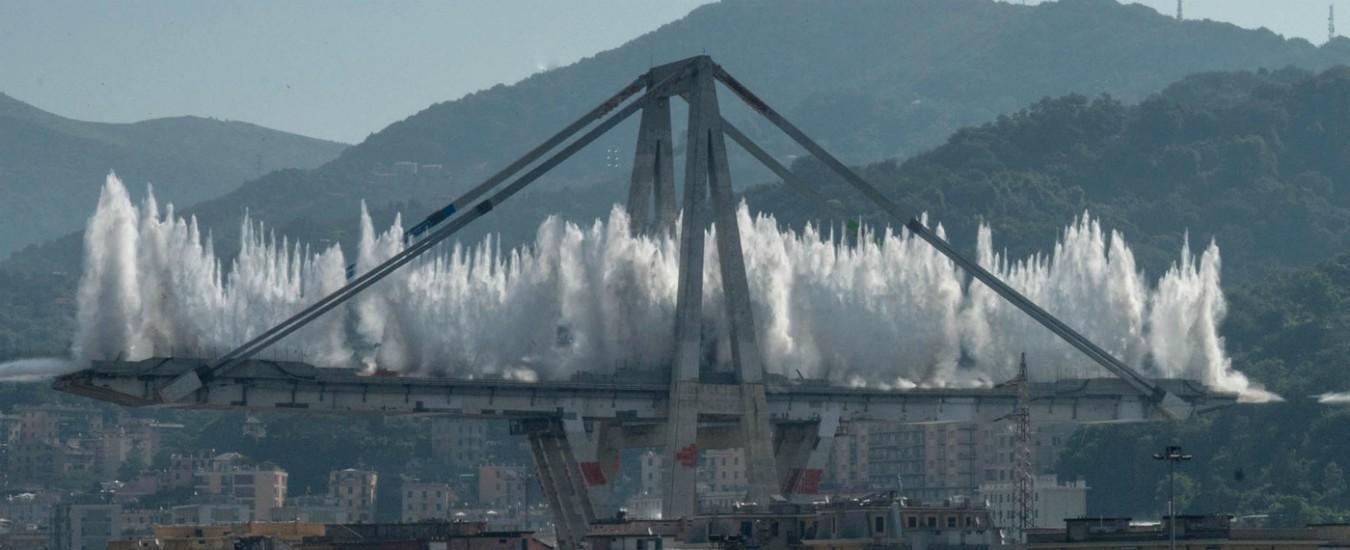 Il ponte Morandi non c'è più, ma non è una festa