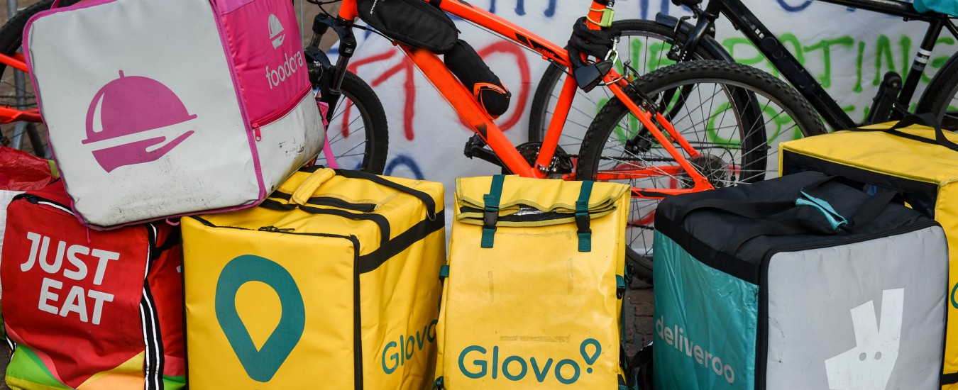 Rider, al via lo sciopero a Milano: venerdì sera niente consegne di cibo a domicilio