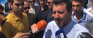 """Atlantia, Salvini: """"Speriamo che sia passata la bufera, è una risorsa per il Paese"""""""