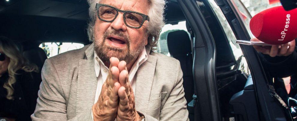 """Beppe Grillo: """"Un'idea per zittire Salvini è quotare in Borsa la SeaWatch"""""""
