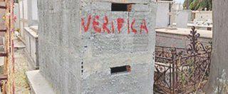 """""""A Locri la 'ndrangheta sposta le tombe: ruspe sulle cappelle abusive"""""""
