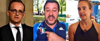 """Sea Watch, Berlino: """"Non criminalizzare chi salva vite"""". Francia contro porti chiusi, Salvini: """"Da loro non prendo lezioni"""""""