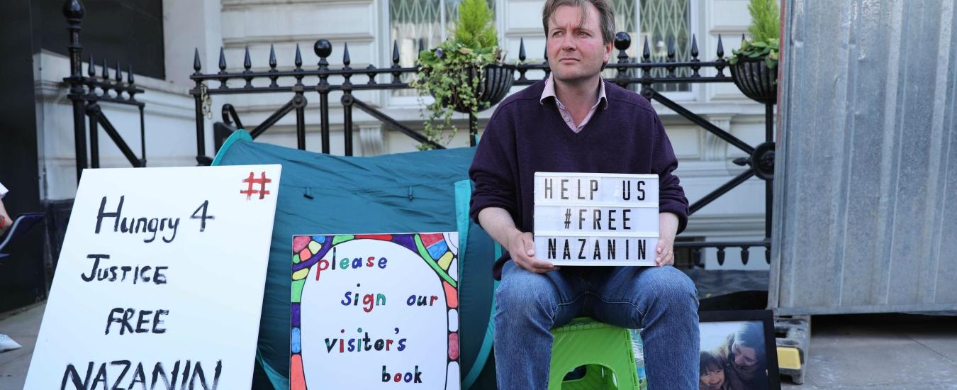 Nazanin Zaghari-Ratcliffe in carcere in Iran. Uno sciopero della fame riaccende la speranza