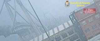 Ponte Morandi, le immagini inedite del crollo diffuse dalla Gdf. La raffica di vento e la pila 9 che cede