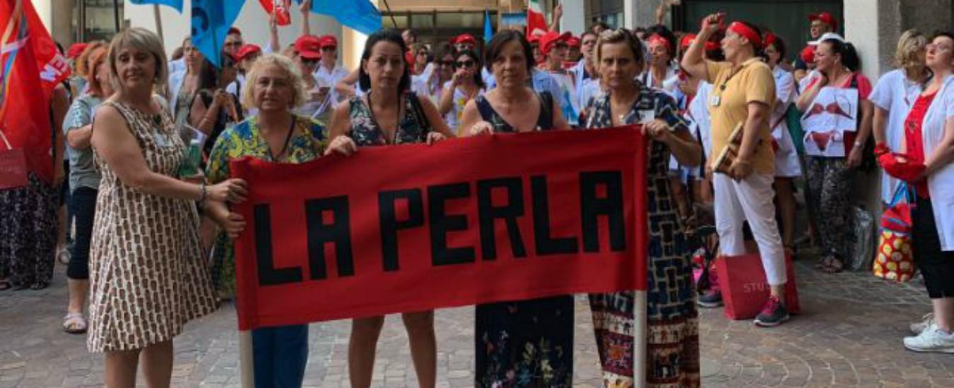 """La Perla, a rischio più di 100 posti di lavoro. Landini contro la proprietà olandese: """"Per loro un gioco finanziario"""""""