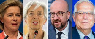"""Nomine Ue: Ursula Von der Leyen presidente della Commissione Ue, Lagarde alla Bce. Conte: """"All'Italia vicepresidente e commissario economico"""""""