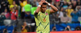 Tesillo 25 anni dopo Escobar: minacce di morte al difensore colombiano dopo il rigore sbagliato in Coppa America