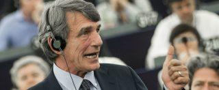 """David Sassoli eletto presidente del Parlamento europeo. """"Ora cambiare regole sui migranti"""""""