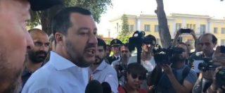 """Salvini: """"Per Gip vita dei finanzieri vale meno di quella di un clandestino? Follia"""". E all'Anm: """"Ultimi a poter dare lezioni"""""""