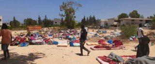 """Libia. Nel centro di Tajoura, dove 700 migranti vivevano ammassati e imploravano le ong: """"Non lasciateci soli"""""""