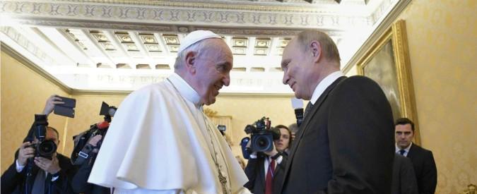 Vladimir Putin in visita a Roma da Mattarella e papa Francesco, poi il vertice a Palazzo Chigi con il premier Conte