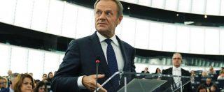 """Tusk: """"Verdi faranno bene a maggioranza in Europa. Più rappresentanti dall'Est"""""""