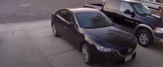 California, terremoto di magnitudo 7.1: la scossa ripresa dalla videosorveglianza di un parcheggio