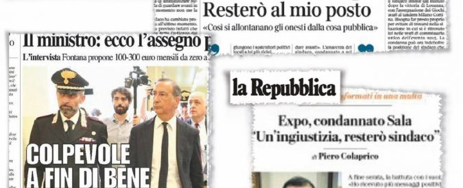 Stampa in lutto: povero Beppe, martire per l'Italia