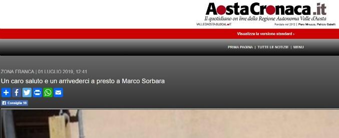 """'Ndrangheta, la lettera del direttore di Aosta Cronaca al consigliere arrestato: """"Fa male saperti in carcere"""""""