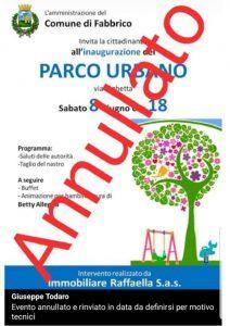 Reggio Emilia, a Fabbrico il parco comunale è realizzato dai