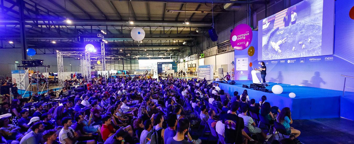 Campus Party, la quattro giorni dedicata ad innovazione e creatività torna a Milano dal 24 al 27 Luglio
