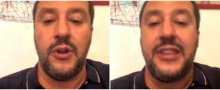 """Nave Alex, Salvini: """"Ogni tanto mi sento solo, chiederò ai ministri della Difesa e dell'Economia di aiutarmi"""""""