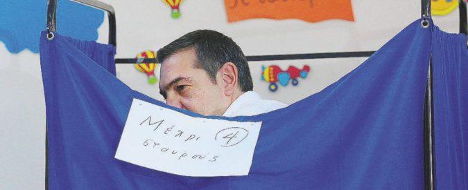 I greci salutano Tsipras: stravince il centrodestra