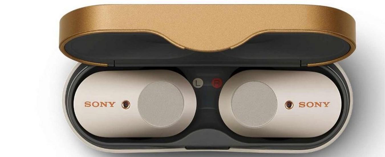 Sony WF-1000XM3, auricolari true wiress lussuosi e costosi con cancellazione del rumore
