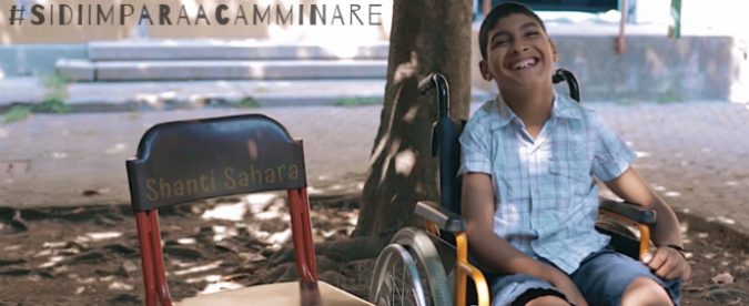 Sidi verrà in Italia per imparare a camminare. E noi possiamo essere il suo sostegno