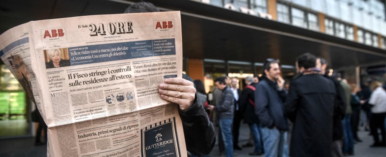 Sole 24 Ore, azienda entrò nella mail di un giornalista: gip ordina l'imputazione per vertici dell'ufficio del personale