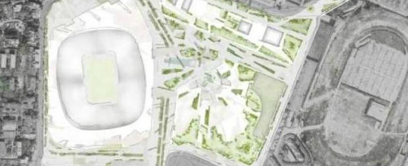 Nuovo San Siro, Inter e Milan presentano il progetto di fattibilità. L'area sportiva meno estesa di quella commerciale
