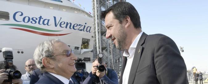 """Fincantieri, l'ad Bono: """"I giovani hanno perso voglia di lavorare, si accontentano di fare i rider a 500 euro al mese"""""""
