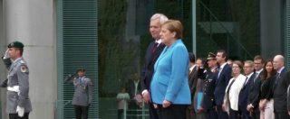 """Angela Merkel: """"Sto bene, sono perfettamente in grado di svolgere incarico"""""""