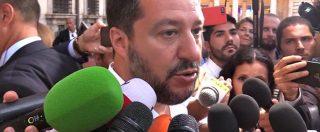 """Lega, Salvini: """"Savoini? Non sapevo di quell'incontro. Riferire in Parlamento? Non c'entro, mai preso una lira da nessuno"""""""
