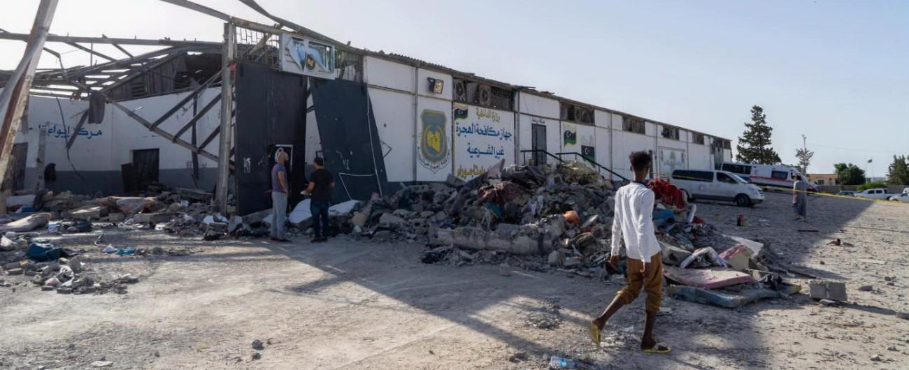 Libia, nessuna liberazione dal centro di detenzione distrutto a Tripoli: migranti sopravvissuti spostati in altre strutture