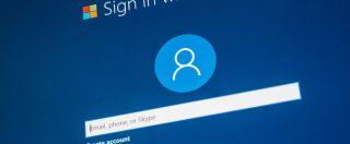 Microsoft testa l'accesso a Windows 10 senza password, più comodo il riconoscimento facciale