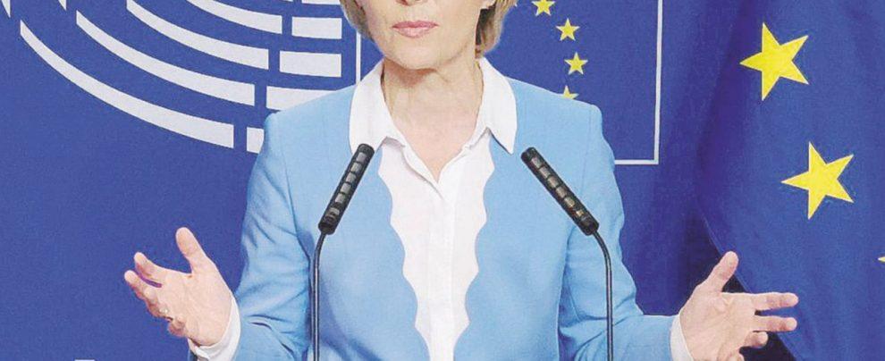 """Von der Leyen: """"Salario minimo in tutta Europa"""""""