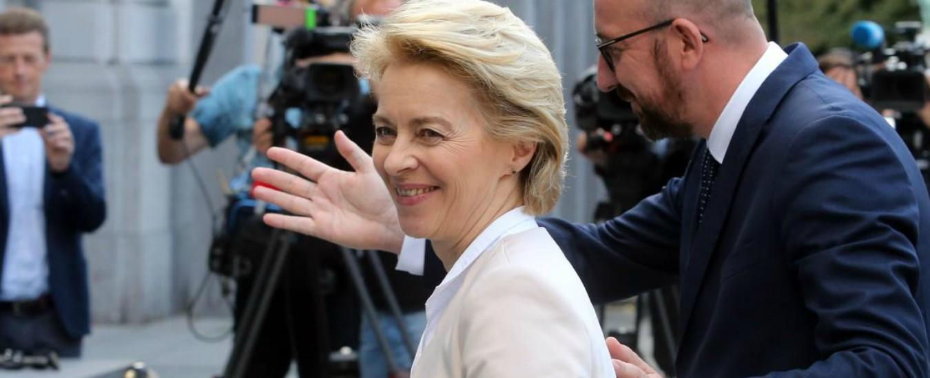 """Ue, Parlamento vota su Ursula von der Leyen il 16 luglio. M5s verso il sì: """"Abbiamo le stesse priorità"""""""