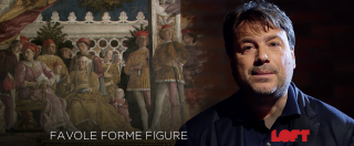 Favole Forme Figure, su Loft quattro lezioni d'arte con Tomaso Montanari: Leonardo, Mantegna, Van Eyck e scultura romana