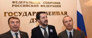 Fondi alla Lega, Salvini 9 volte a Mosca in 4 anni: tutte con Savoini. Per Cremlino è il 'responsabile dei rapporti con la Russia'