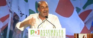 """Pd, lo sfogo di Zingaretti: """"Serve una rivoluzione, così non si può andare avanti. Partito soffocato da correnti"""""""