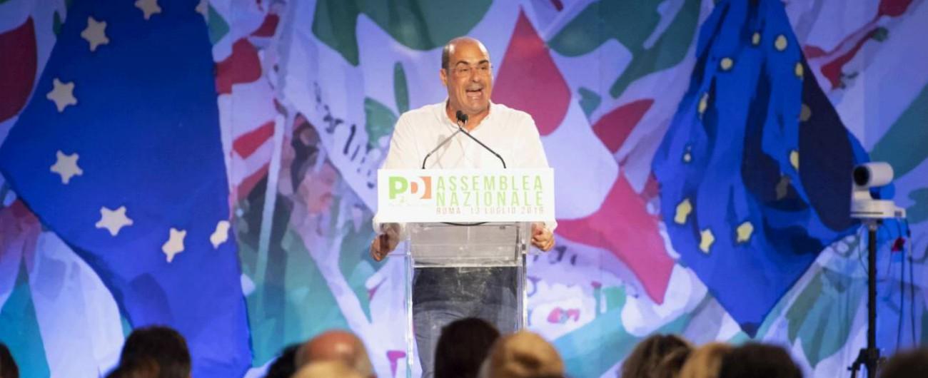 """Pd, Zingaretti: """"Il Pd fatto così non è più utile. Serve una rivoluzione o non ce la faremo, le correnti soffocano tutto"""""""