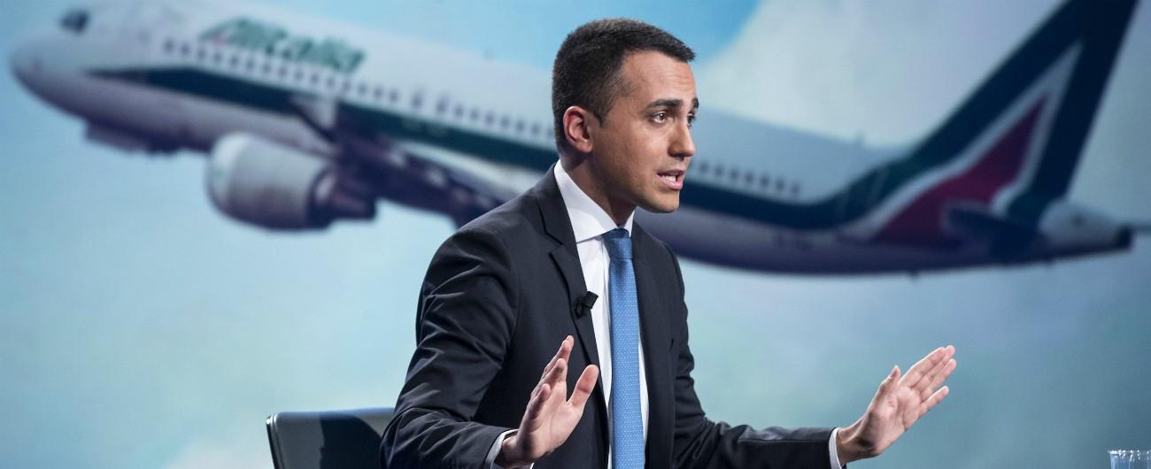 """Alitalia, Fs sceglie Atlantia come partner per salvarla. Di Maio: """"Grande risultato, ma non indietreggiamo su concessioni"""""""