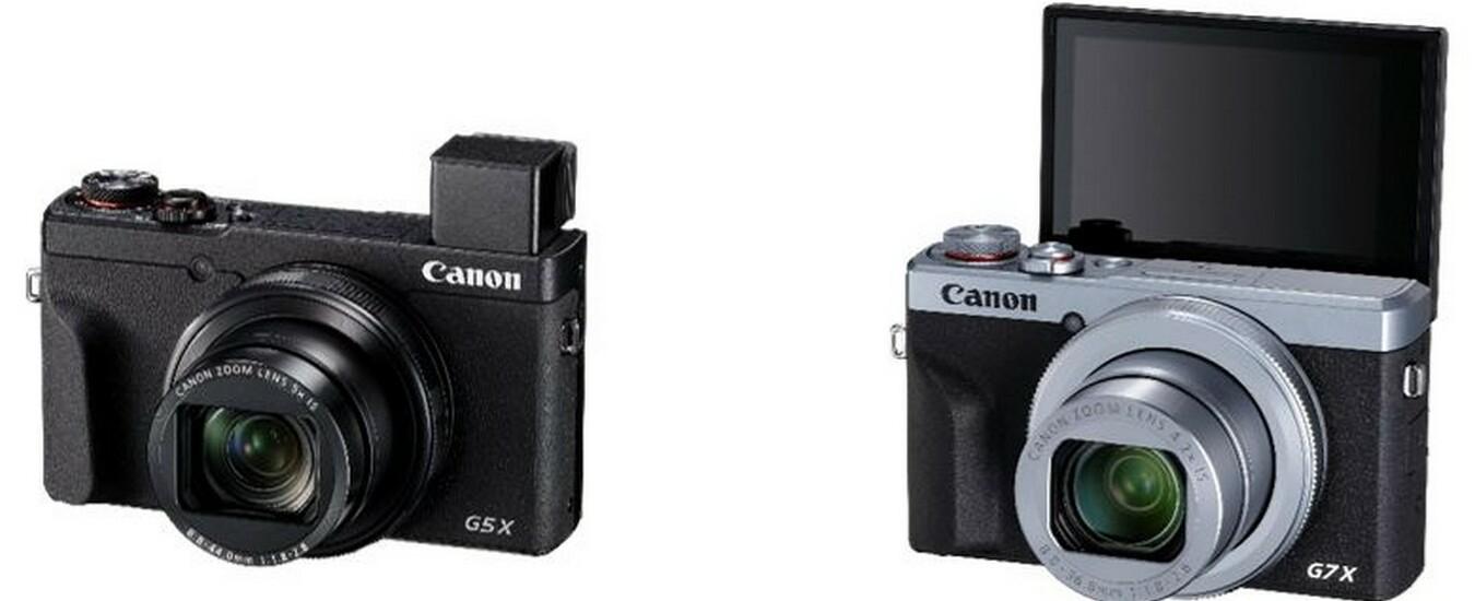 Canon PowerShot G5 e G7, le fotocamere compatte per chi non si accontenta