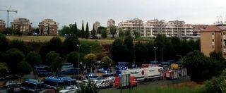 Roma, quartiere Primavalle blindato: polizia e carabinieri pronti per lo sgombero di un edificio occupato