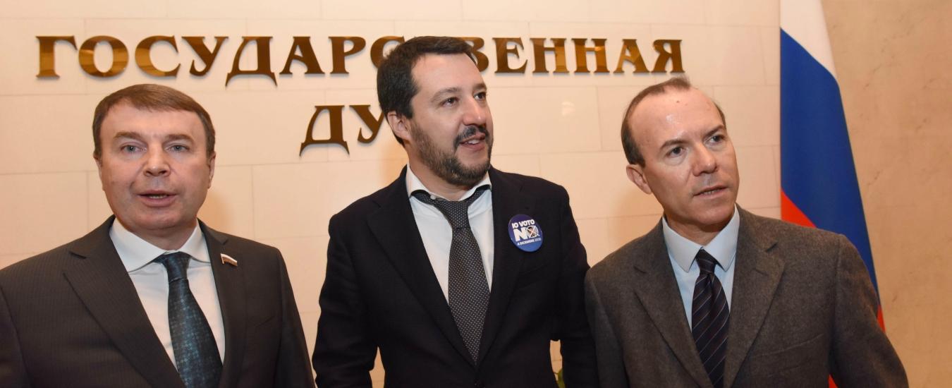 Lega-Russia, i direttori dei servizi segreti al Copasir: gli affari e le missioni di Savoini e del consigliere di Salvini