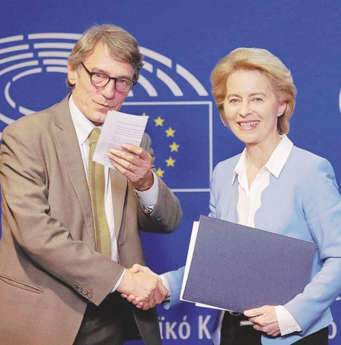 L'Ue elegge Ursula: anche Lega e M5S  in corsa per votarla